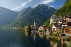 The most photographed view of Hallstatt.
