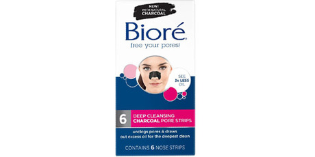 Biore charcoal pore strips. Photo / Makeup Alley