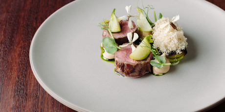 Lamb with walnut, fenugreek and turnip from Sid at The French Cafe. Photo / Josh Griggs