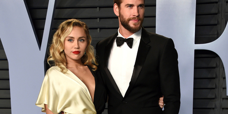 Miley Cyrus and Liam's smashed house of Malibu was destroyed. Photo / AP