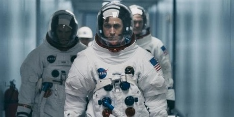 Ryan Gosling in a scene from First Man. Photo / AP
