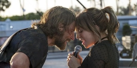 Bradley Cooper and Lady Gaga have both scored Golden Globe nominations for their performances in A Star Is Born. Photo / AP