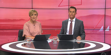 Hilary Barry and Jeremy Wells are the new presenters of Seven Sharp on TV1. Photo / TVNZ