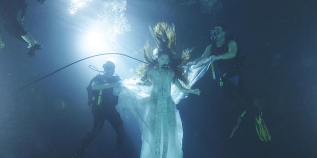 "Auckland based company Kumeu Film Studios has created a chlorine-free underwater dive tank. US drama ""The Shannara Chronicles"" has already filmed a scene using the tank. Photo / Supplied."