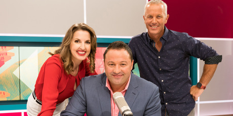 The AM Show celebrated a win over Breakfast last week in the key 25-54 demographic.