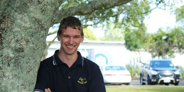Jarrod Neill-Woodd has completed five years of secondary school with not a single days absence. Photo / Tom Rowland