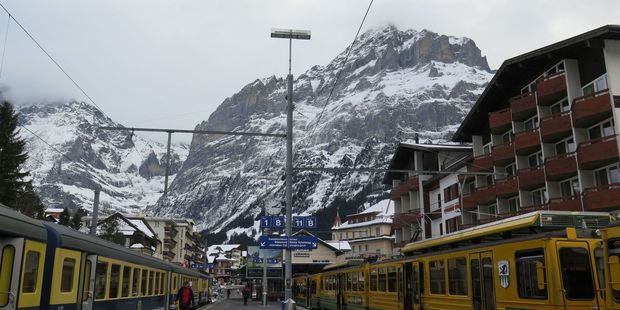 Grindelwald is an old-school alpine resort and so movie-set perfect.