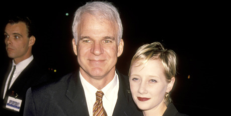 Steve Martin and Anne Heche 1994 at Westwood Playhouse in Westwood, California, United States. Photo / Getty