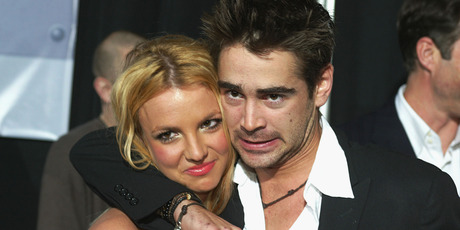 Singer Britney Spears and actor Colin Farrell arrive at the premiere of 'The Recruit' at the Cinerama Dome on January 28, 2003 in Hollywood, California. Photo / Getty