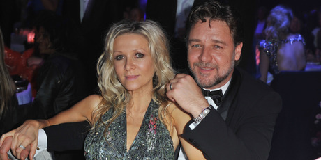 Danielle Spencer and husband Russell Crowe attends amfAR's Cinema Against AIDS 2010 benefit gala dinner. Photo / Getty