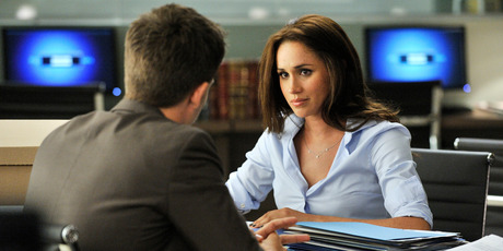 Meghan Markle as Rachel Zane in the TV show Suits. Photo / Getty