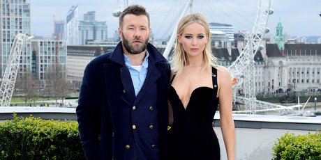 Joel Edgerton and Jennifer Lawrence attending a Red Sparrow photocall. Photo / Getty Images