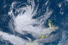 Ex-tropical Cyclone Gita in the northern Tasman Sea in a satellite image. Photo / Metservice