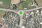 A proposed short term roundabout for the Thomas Road and Gordonton Road intersection. Photo / Hamilton City Council
