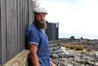 Gareth Edwards, founder of skincare company The Dark Heart Beard Co. Photo / Supplied
