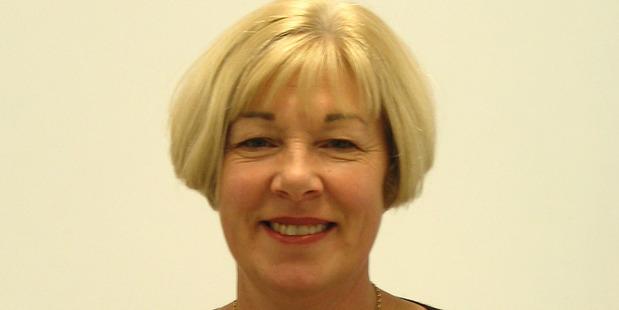 Finance committee chair Jane Hennebry