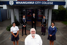 Retired City College teacher Robert Wilson (Uncle Bob) says goodbye. Photo/ Stuart Munro