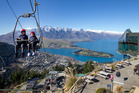 Average room rates in Queenstown were about $225 a night last year. Picture / Mark Mitchell