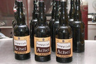 Trappist beer at Achelse Kluis Monastery brewery. Photo / Supplied