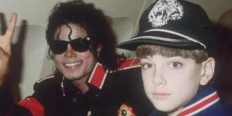 Michael Jackson and James Safechuck. Photo / Supplied