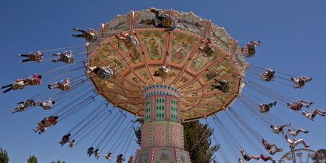 One of the amusement park attractions at his Neverland ranch. Photo / Getty Images