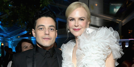 Rami Malek and Nicole Kidman at the 8th AACTA International Awards in Los Angeles, California. Photo / Getty Images