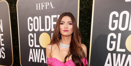 Blanca Blanco arrives to the 76th Annual Golden Globe Awards on January 6, 2019. Photo / Getty
