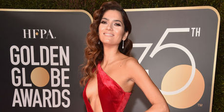 07: Actor Blanca Blanco attends The 75th Annual Golden Globe Awards. Photo / Getty