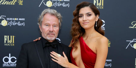Actors John Savage (L) and Blanca Blanco attend the Official Viewing and After Party of The Golden Globe Awards. Photo / Getty