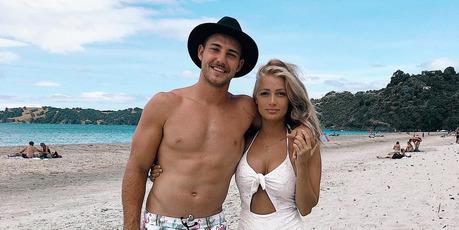 Karl Lawton and Rosie Van. Photo / Instagram