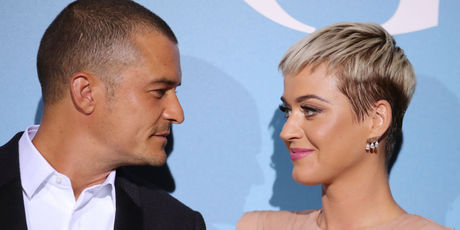 Katy Perry and Orlando Bloom attend the Gala for the Global Ocean. Photo / Getty