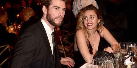 Liam Hemsworth and Miley Cyrus attend the 16th annual G'Day USA Los Angeles Gala. Photo / Getty Images