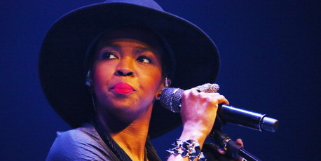 Lauryn Hill performs live for fans as part of VIVID Live 2014 at Sydney Opera House. Photo / Getty