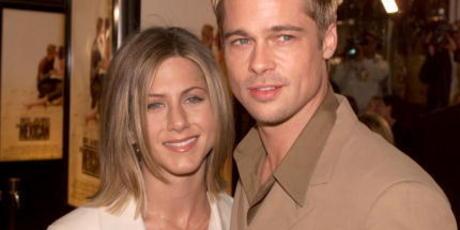 Brad Pitt and Jennifer Aniston in 2001. Photo / Getty