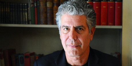 The late chef and internationally acclaimed author, Anthony Bourdain. Photo / Getty Images