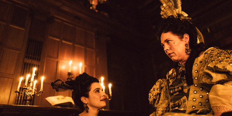 Rachel Weisz and Olivia Colman in The Favourite. Photo / supplied