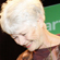 Jeanette Fitzsimons, after arriving on election night at the Green Party function. Photo / Sarah Ivey