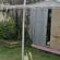 The clothesline on which Nia Glassie was spun. Photo / Alan Gibson