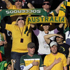 Australian fans cheer prior to the World Cup group D soccer match between Ghana and Australia at Royal Bafokeng Stadium in Rustenburg, South Africa. Photo / AP