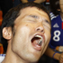 Supporters of Japan  National Soccer Team show disappointment during 'the National Stadium World Cup Public Viewing Tokyo 2010' to watch the World Cup Soccer  group E match against the Netherlands at the National Olympic Stadium in Tokyo. Photo / AP