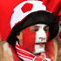 Denmark supporters walk with a flag past other supporters before the World Cup group E soccer match between Cameroon and Denmark at the Loftus Versfeld Stadium in Pretoria, South Africa. Photo / AP
