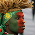 A Cameroon supporter waits for the start of the World Cup group E soccer match between Cameroon and Denmark at the Loftus Versfeld Stadium in Pretoria, South Africa. Photo / AP