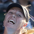 Maria Sharapova of Russia playing against Alberta Brianti of Italy. Photo / NZPA