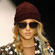 A model wears a creation by Ashish. Photo / AP