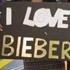 Fans await Justin Bieber at the airport. Photo / NZPA