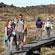 Boardwalks in parts of the track give trampers a break from the rocky terrain underfoot. Photo / Greg Bowker
