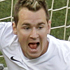 New Zealand's Shane Smeltz (L) celebrates after scoring as Italy goalkeeper Federico Marchetti looks on during the Group F match in Nelspruit. Photo / AP