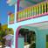 Colourful architecture on Caye Caulker. Photo / Perisho