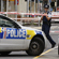 Police close off Hereford Street after the earthquake. Photo / NZPA