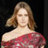 A model wears a creation by Nicole Farhi. Photo / AP